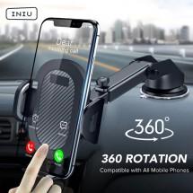 Универсална стойка за телефон за кола с вакуумно захващане