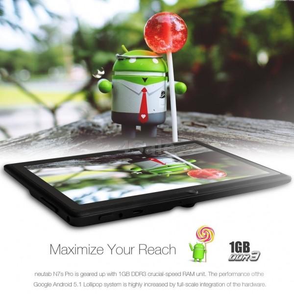 Четириядрен Таблет 7 inch Slim Tab 1GB оперативна RAM памет 2