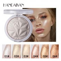 Бляскава пудра за лице хайлайтър, за перфектен завършек Handaiyan HZS263