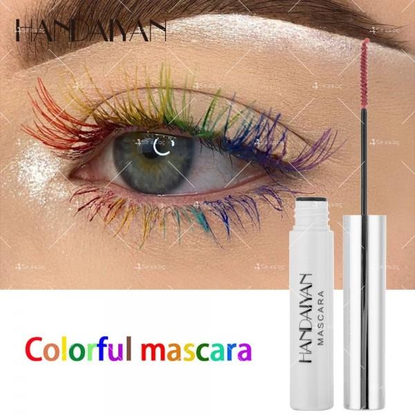 Цветна спирала за мигли, придаваща обем и дължина Handaiyan HANDAIYAN HZS266 13