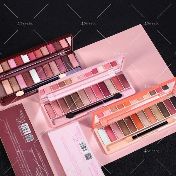 Палитра със сенки за очи с 12 на брой различни цветове HZS274 8