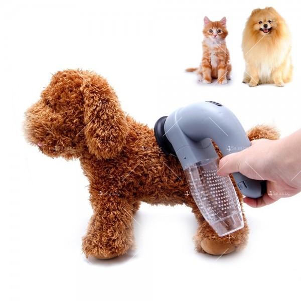 Прахосмукачка за почистване на косми, предназначена за домашни любимци - TV800 5