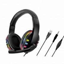 Жични слушалки с микрофон и светлинни индикатори при пускане - EP50