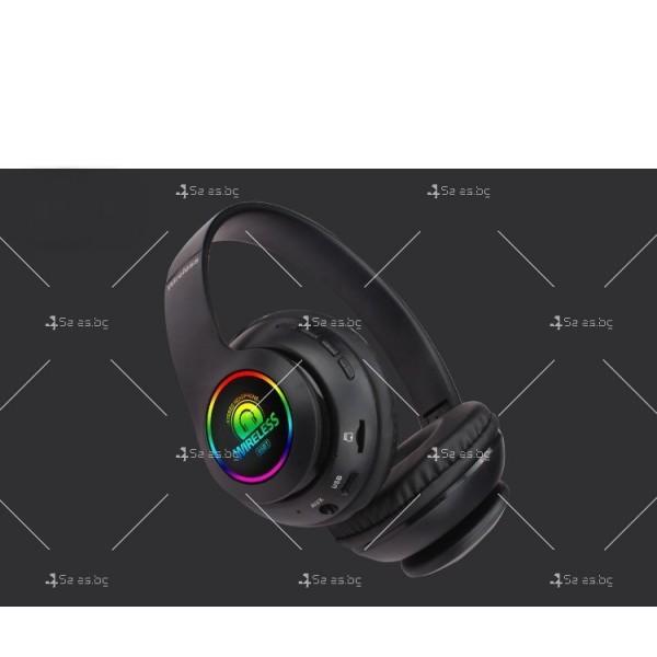 Bluetooth слушалки с регулируема диадема и прибиращи се наушници - EP53 2