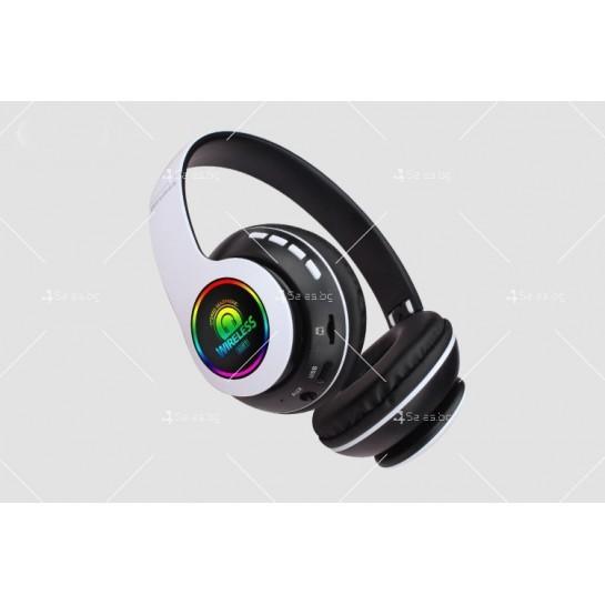 Bluetooth слушалки с регулируема диадема и прибиращи се наушници - EP53