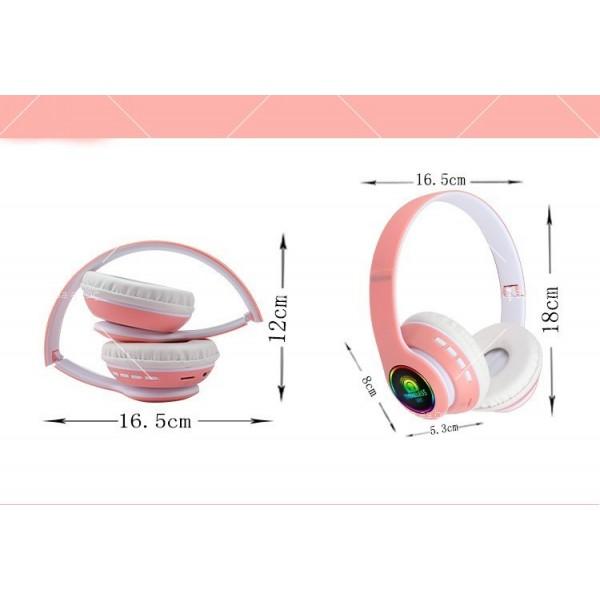 Bluetooth слушалки с регулируема диадема и прибиращи се наушници - EP53 10