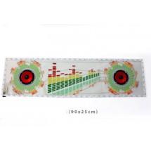 Стикер за кола с LED светлини от многоцветни нюанси - CT16