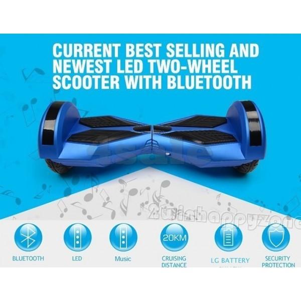 Ховърборд BATMAN с 8 инчови гуми Bluetooth аудио система и над 3000 зареждания 8