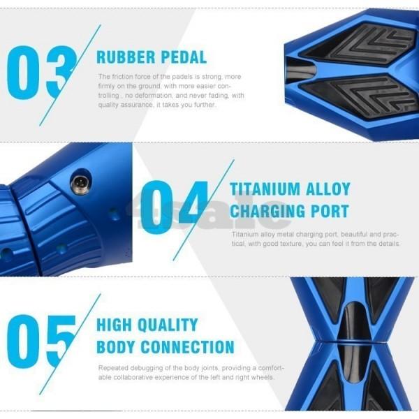 Ховърборд BATMAN с 8 инчови гуми Bluetooth аудио система и над 3000 зареждания 10
