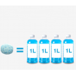 Разтворими, концентрирани таблетки за чистачки на кола - TV808 7