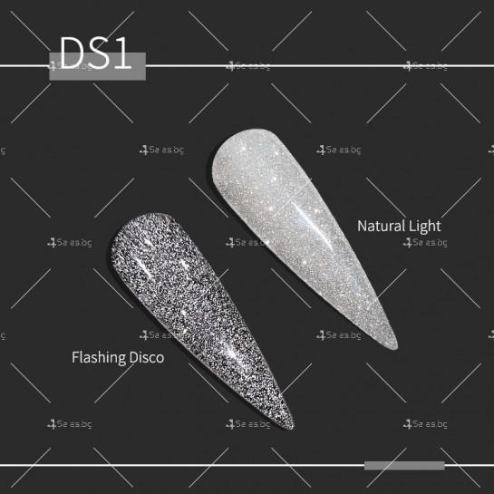 Гел – лак за нокти с диамантен блясък в 6 уникални цвята FRANCHESKA ZJY95