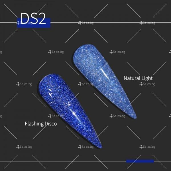 Гел – лак за нокти с диамантен блясък в 6 уникални цвята FRANCHESKA ZJY95 2