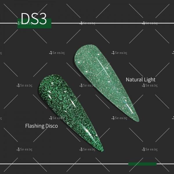Гел – лак за нокти с диамантен блясък в 6 уникални цвята FRANCHESKA ZJY95 3