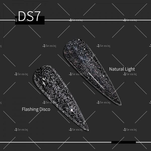 Гел – лак за нокти с диамантен блясък в 6 уникални цвята FRANCHESKA ZJY95 5