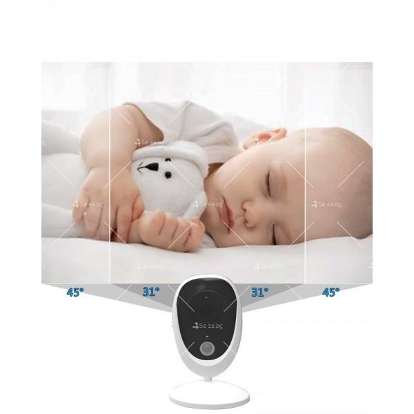 Бебефон с камера и 3,5 инчов LCD дисплей IP34 4