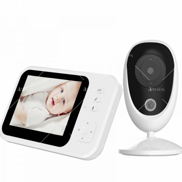 Бебефон с камера и 3,5 инчов LCD дисплей IP34 8