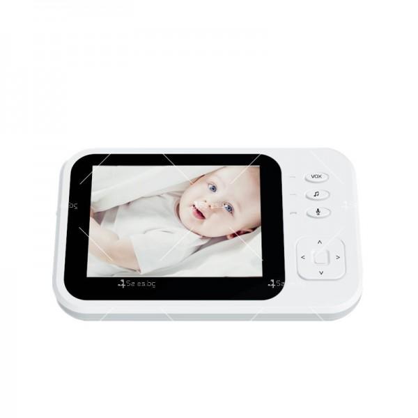 Бебефон с камера и 3,5 инчов LCD дисплей IP34 9