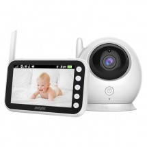 Безжичен двупосочен бебефон с камера ABM 100 IP35