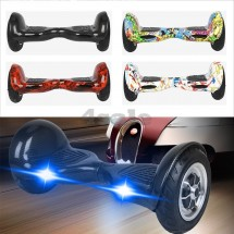 Ховърборд с 10 инчови гуми, Bluetooth връзка, високоговорител и LED светлини