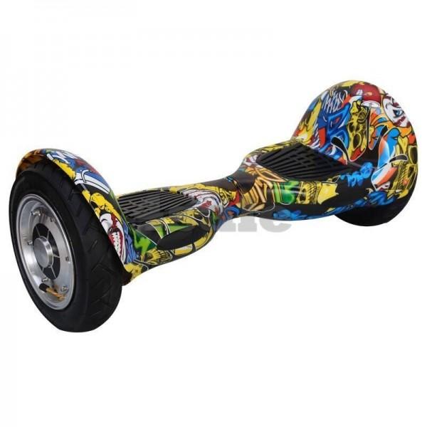 Ховърборд с 10 инчови гуми, Bluetooth връзка, високоговорител и LED светлини 7
