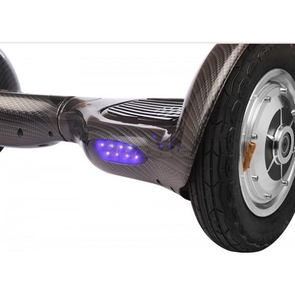 Ховърборд с 10 инчови гуми, Bluetooth връзка, високоговорител и LED светлини 10