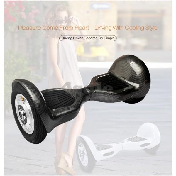 Ховърборд с 10 инчови гуми, Bluetooth връзка, високоговорител и LED светлини 12