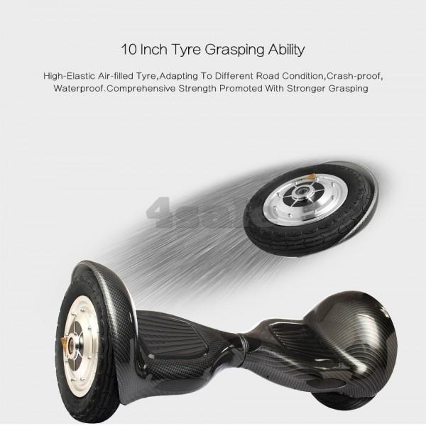 Ховърборд с 10 инчови гуми, Bluetooth връзка, високоговорител и LED светлини 13