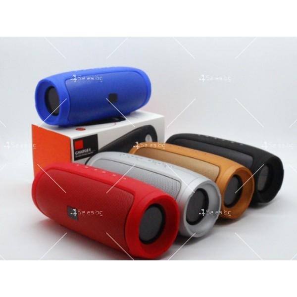 Супер силна преносима Bluetooth колона с хендсфри Charge4 10