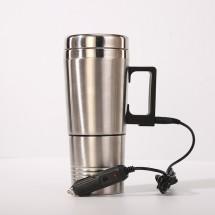 Метална чаша за подгряване на течности с кабел за кола 300 мл TV792-1 (12V)