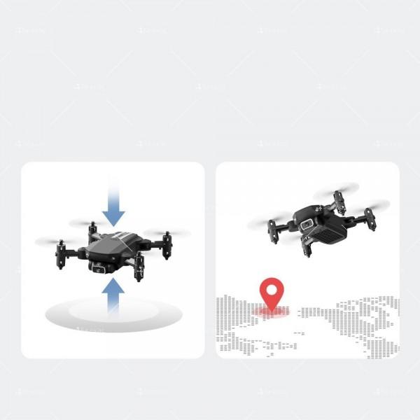 Мини дрон с HD камера, LED светлини и 4K резолюция DRON LS-MIN 2