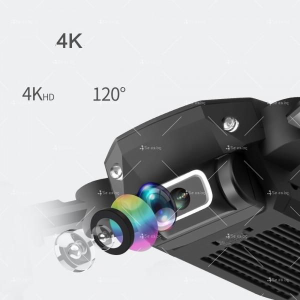 Мини дрон с HD камера, LED светлини и 4K резолюция DRON LS-MIN 3