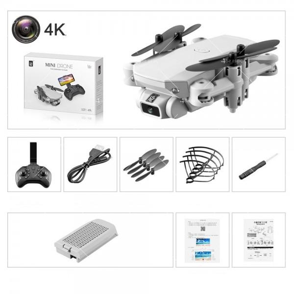 Мини дрон с HD камера, LED светлини и 4K резолюция DRON LS-MIN 7