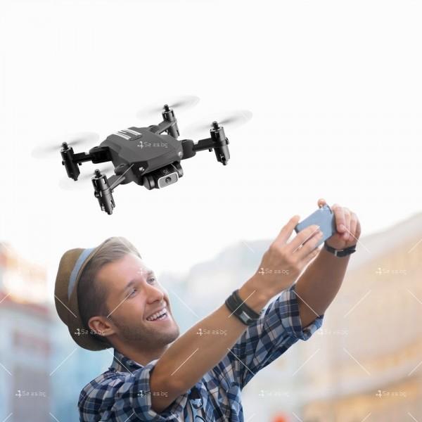 Мини дрон с HD камера, LED светлини и 4K резолюция DRON LS-MIN 8