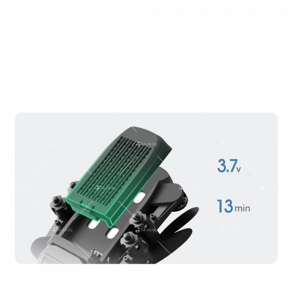 Мини дрон с HD камера, LED светлини и 4K резолюция DRON LS-MIN 9