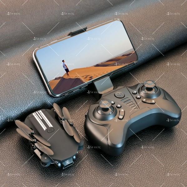 Мини дрон с HD камера, LED светлини и 4K резолюция DRON LS-MIN 12