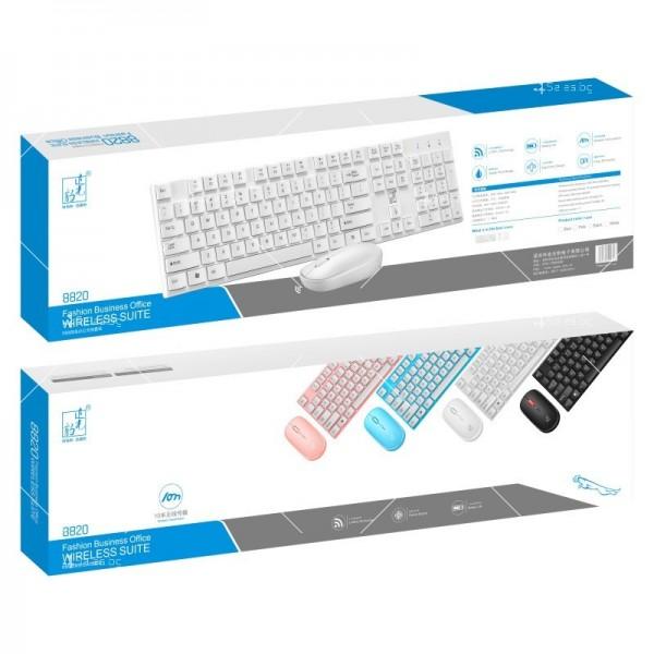 Безжични Wireless клавиатура и мишка за компютър KMT1 4