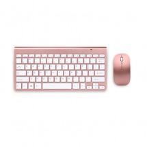 Ултра тънка Wireless клавиатура и оптична мишка за компютър KMT2