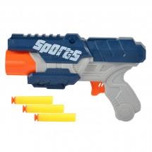 Детска играчка пистолет с леки и меки патрони WJ17