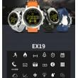 Мъжки смарт часовник с метален корпус и сменяема батерия SMW32 10
