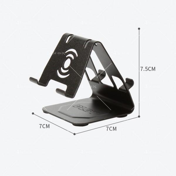 Двоен алуминиев държач за мобилни телефони и таблети ST28 3