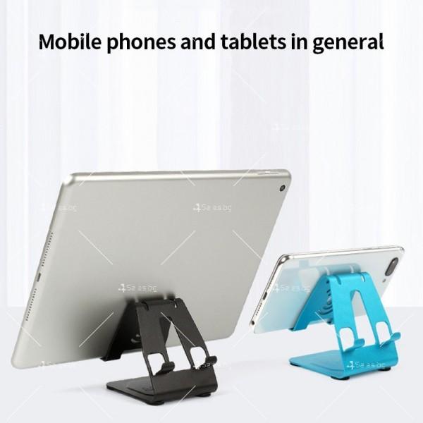 Двоен алуминиев държач за мобилни телефони и таблети ST28 5