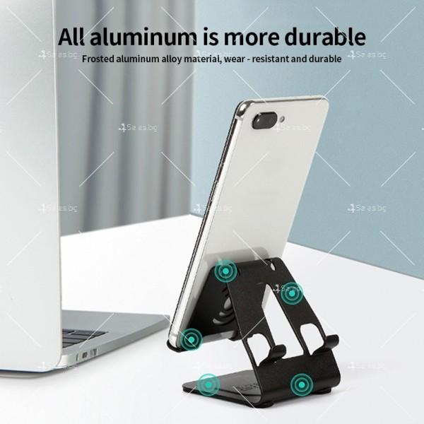 Двоен алуминиев държач за мобилни телефони и таблети ST28 6