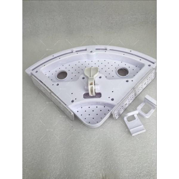 Многофункционален триъгълен рафт за баня или кухня 4