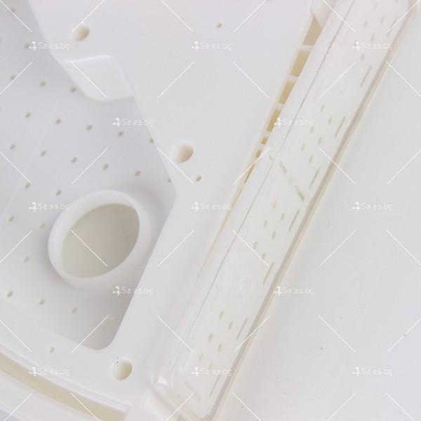 Многофункционален триъгълен рафт за баня или кухня 7