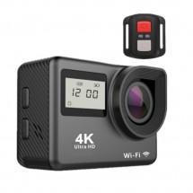 Спортна екшън камера с 4К и Wi-Fi, с дистанционно управление SC22