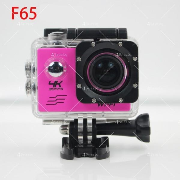 Водоустойчива екшън камера с дистанционно управление SC21 2