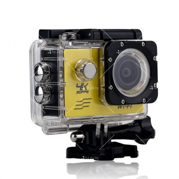 Водоустойчива екшън камера с дистанционно управление SC21 8