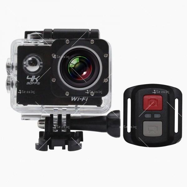 Водоустойчива екшън камера с дистанционно управление SC21 12