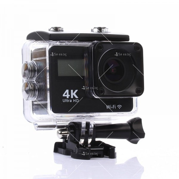 Водоустойчива спортна екшън камера 4K Ultra HD SC23