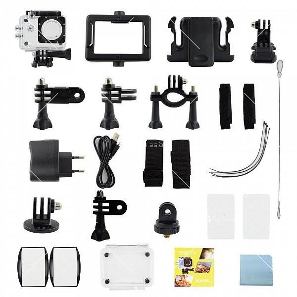 Водоустойчива спортна екшън камера 4K Ultra HD SC23 5